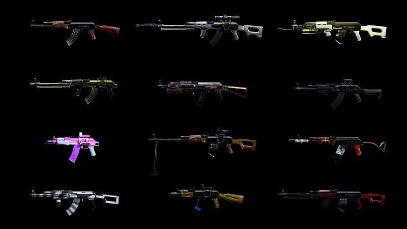 The list of weapons that the Commando Foregrip can be used on in COD: Warzone is huge (Image Credit: CallofDuty.com)