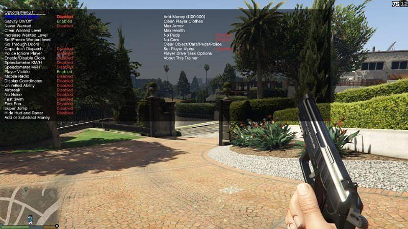 Simple Trainer (Image credits: GTA5-mods.com)