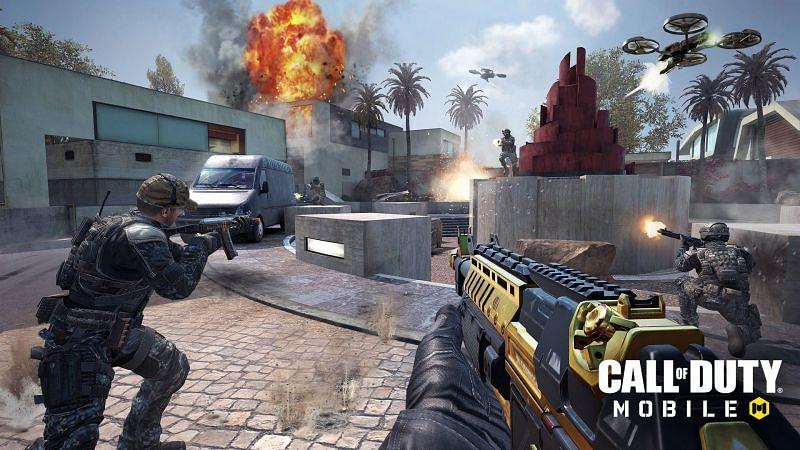 COD Mobile gameplay (Image credits: CrushThePixel)