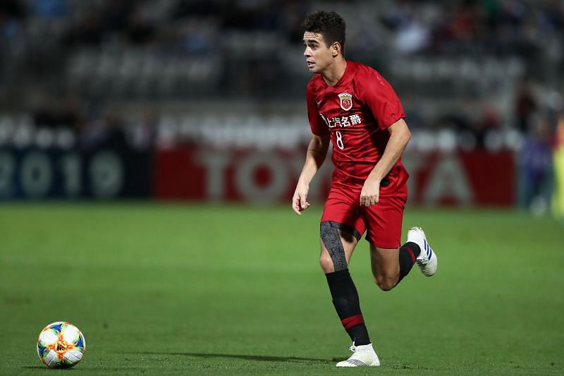 Oscar has been among the goals for Shanghai SIPG this season