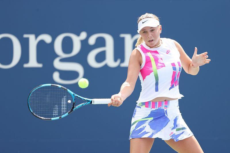 Amanda Anisimova at the 2020 US Open