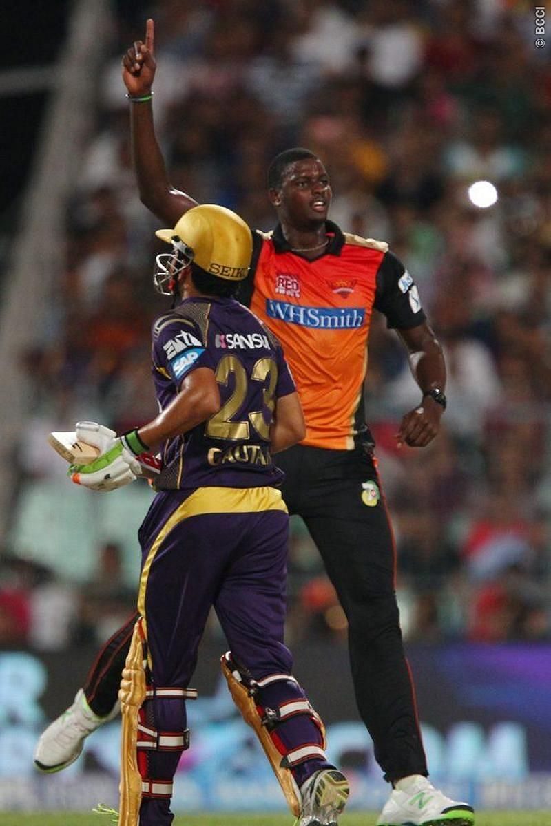 Jason Holder has scored 38 runs and picked five wickets in 11 IPL matches (Image Credits: IPLT20.com)