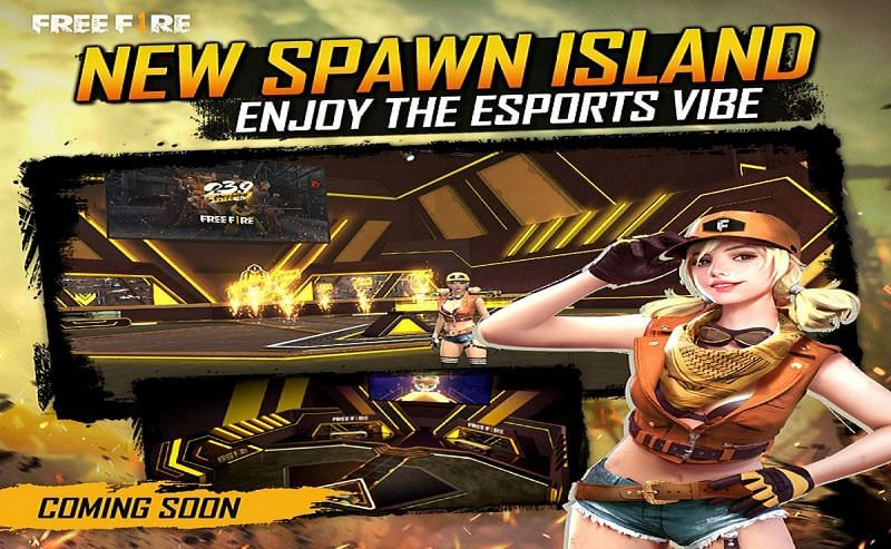 New Spawn Island (Image Credits: Garena Free Fire)