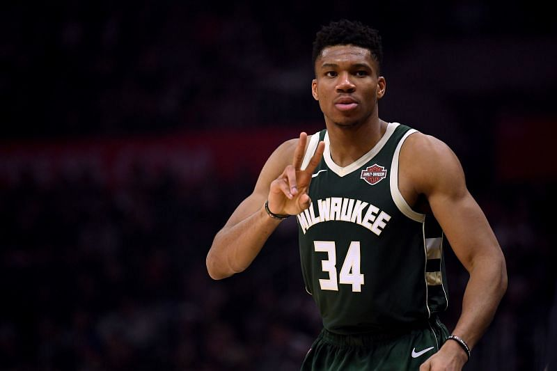 Giannis Antetokounmpo has one year left with the Milwaukee Bucks