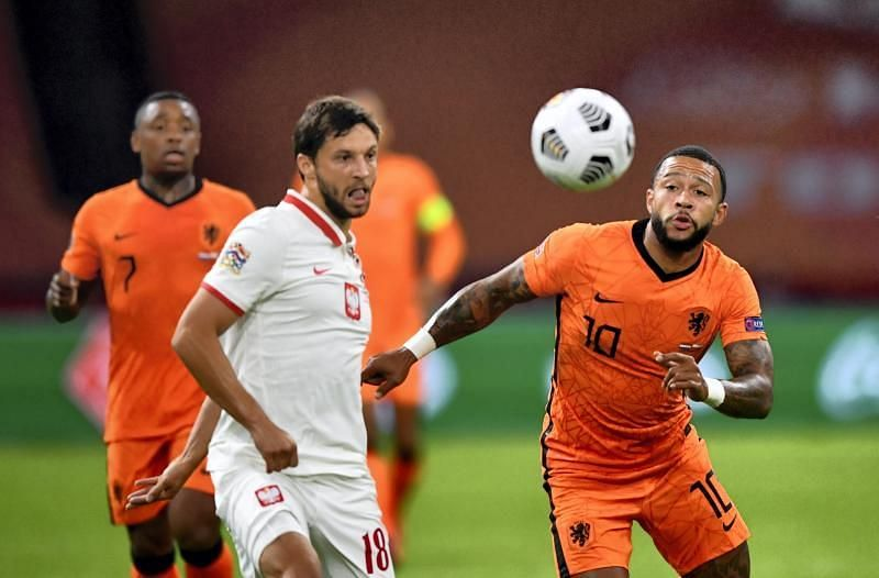 Memphis Depay was at the heart of the Netherlands