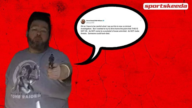 Boogie2988 allegedly fired a gun at fellow YouTuber Frank Hassle.