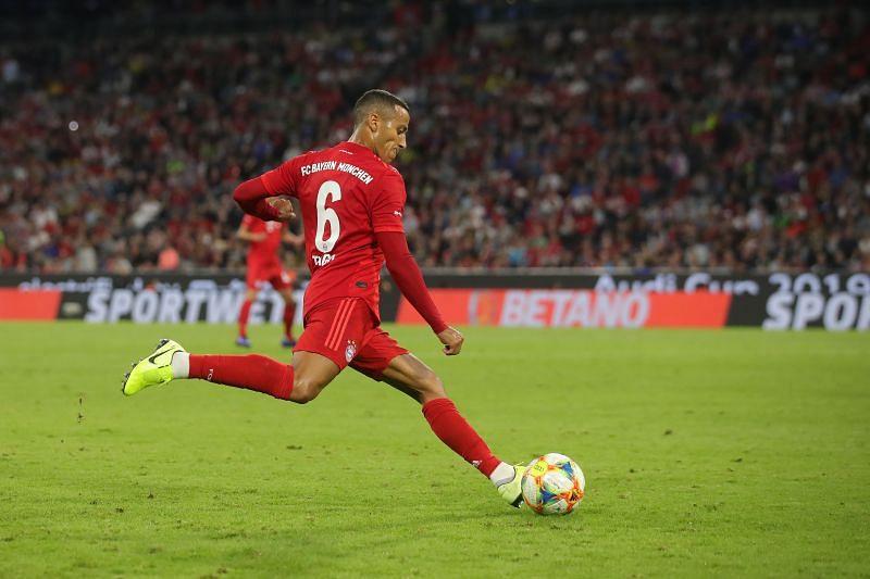 Thiago Alcantara is a top target for Liverpool this summer