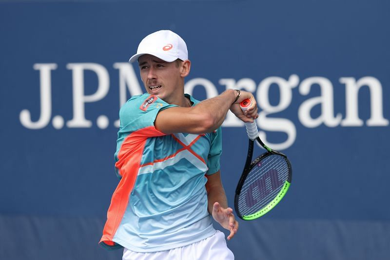 Alex de Minaur picked up a four-set victory against Richard Gasquet in the second round of the 2020 US Open