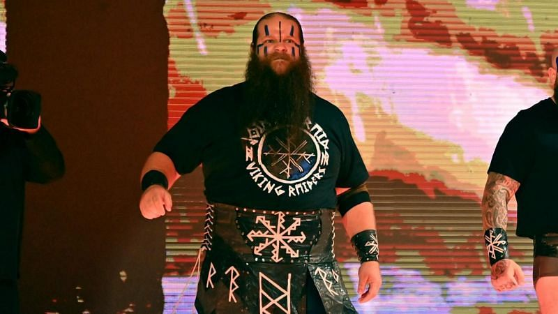 Ivar has updated fans on his condition after sustaining an injury on RAW