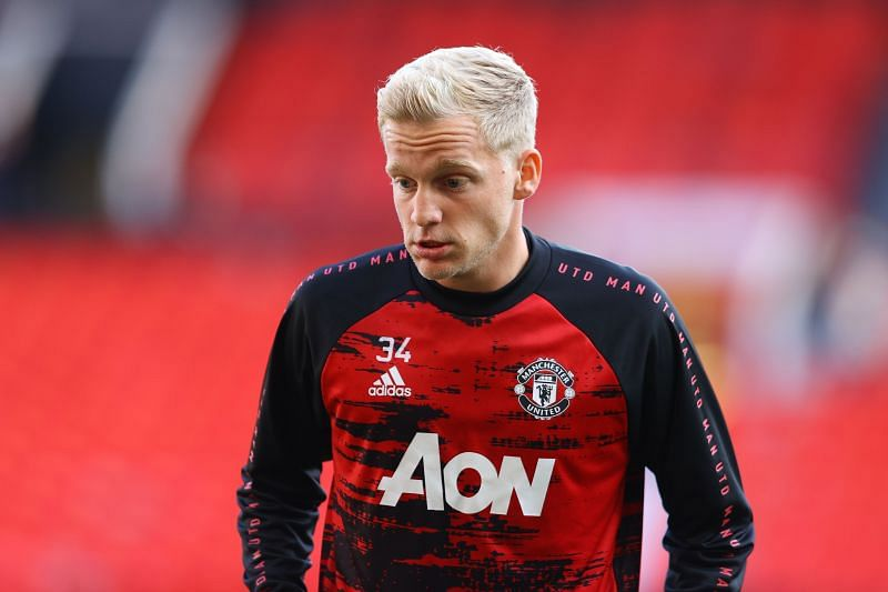 Donny van de Beek put in a decent performance for Manchester United