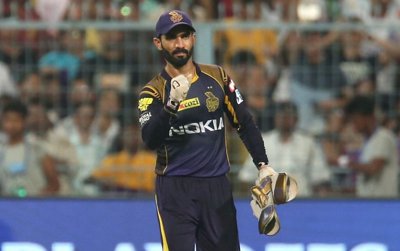 KKR skipper Dinesh Karthik has been behind the stumps for the majority of his career