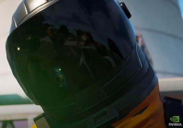 Ray Tracing working its magic in Fortnite! (Image Credits: Nvidia GeForce, YouTube)