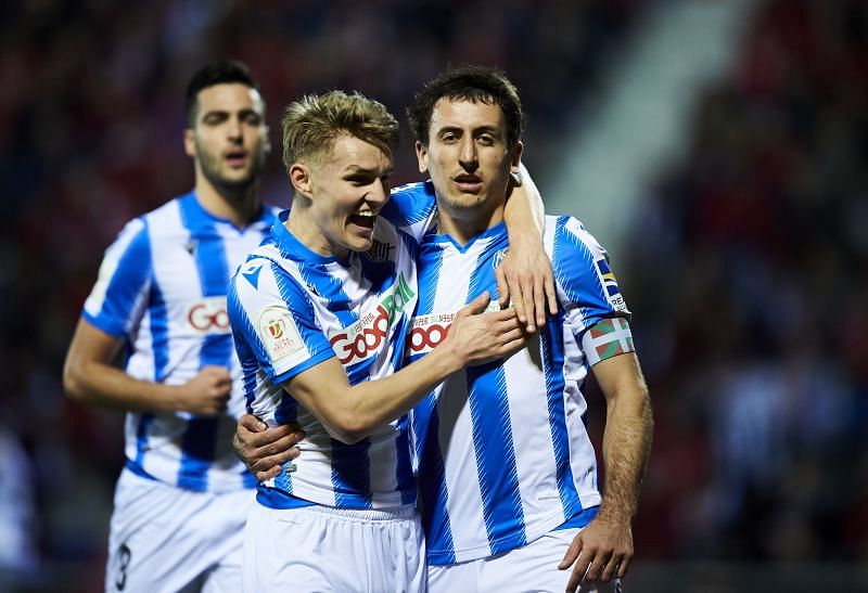 Odegaard was a part of an exciting young Sociedad attack.