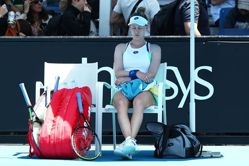 Alison Riske looked in superb form in her Round One match