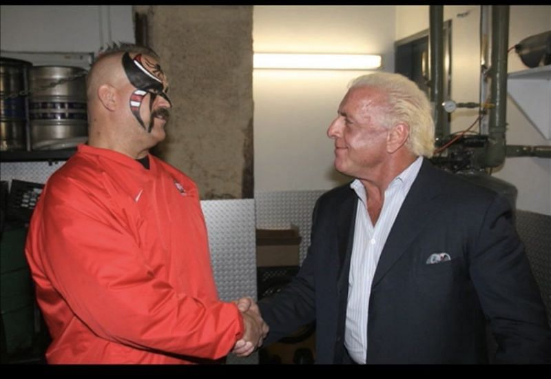 Ric Flair had known Animal for a very long time (Pic Source: Ric Flair Twitter/WWE)