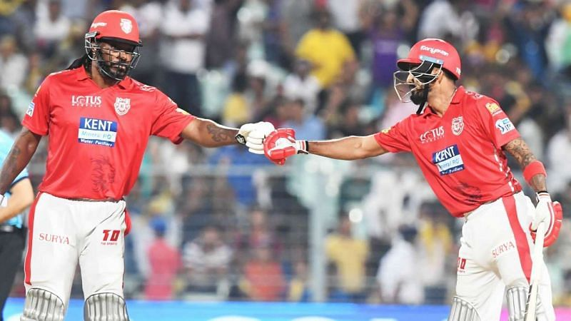 Sunil Gavaskar is of the opinion that KXIP will depend a lot on the likes of KL Rahul and Chris Gayle.