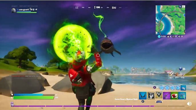 How Fortnite S New Mythic Item Is A Perfect Counter To Sharks A free multiplayer game where you compete in battle royale, collaborate to create your see more of fortnite on facebook. mythic item is a perfect counter to sharks