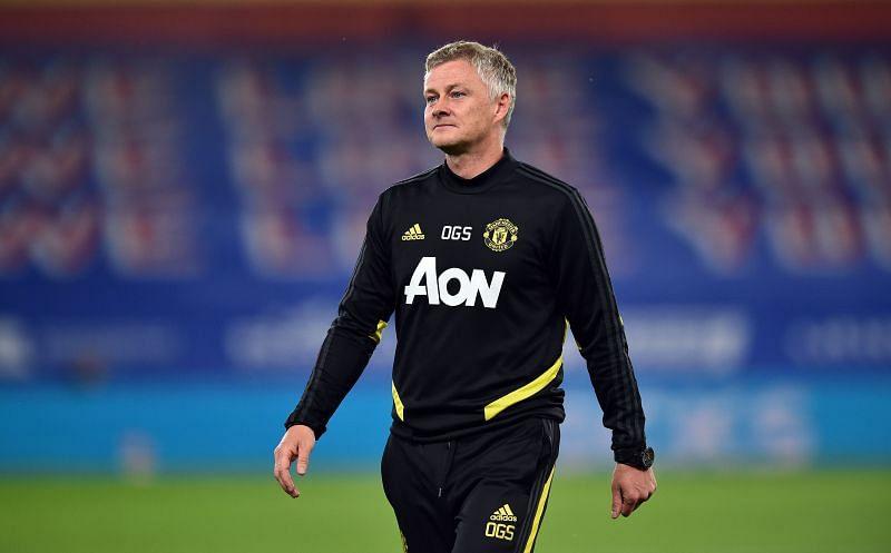 Manchester United manager Ole Gunnar Solksjaer