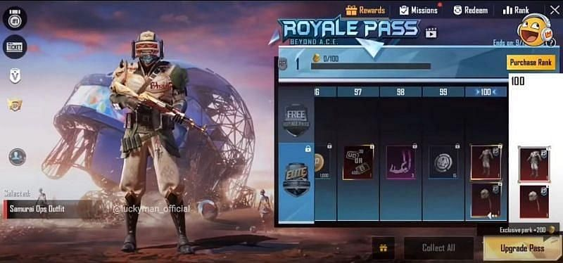 Samurai Ops Outfit (Image Credits: Luckyman / YouTube))
