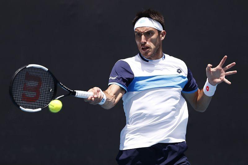 Leonardo Mayer at the 2020 Australian Open