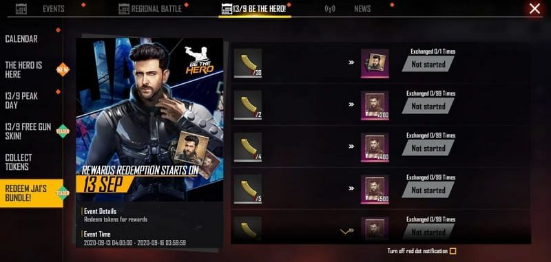 Collect Golden Magazines to claim Jai character costume