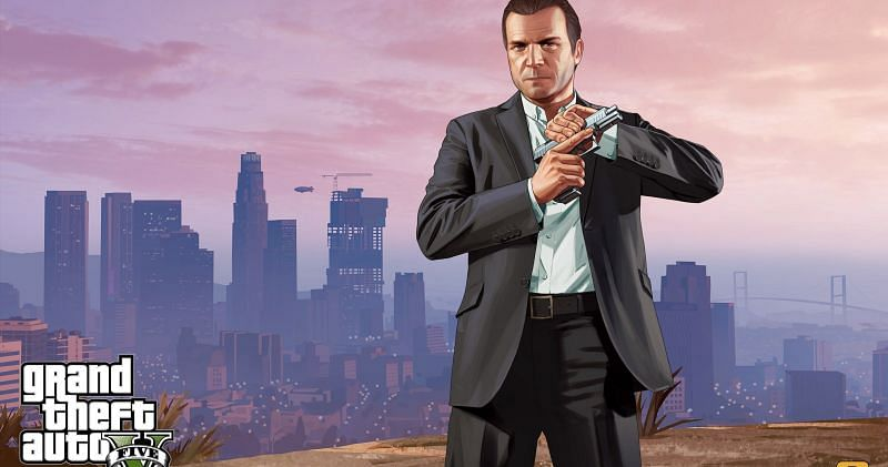 GTA 5 APK download: There is no official mobile version of the game available yet (Image Source: Wallpaperaccess.com)