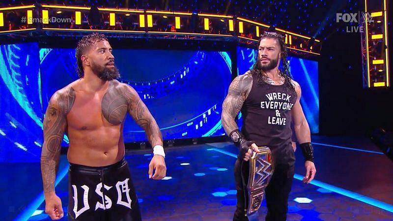 इस हफ्ते SmackDown में रोमन रेंस का दबदबा देखने को मिला