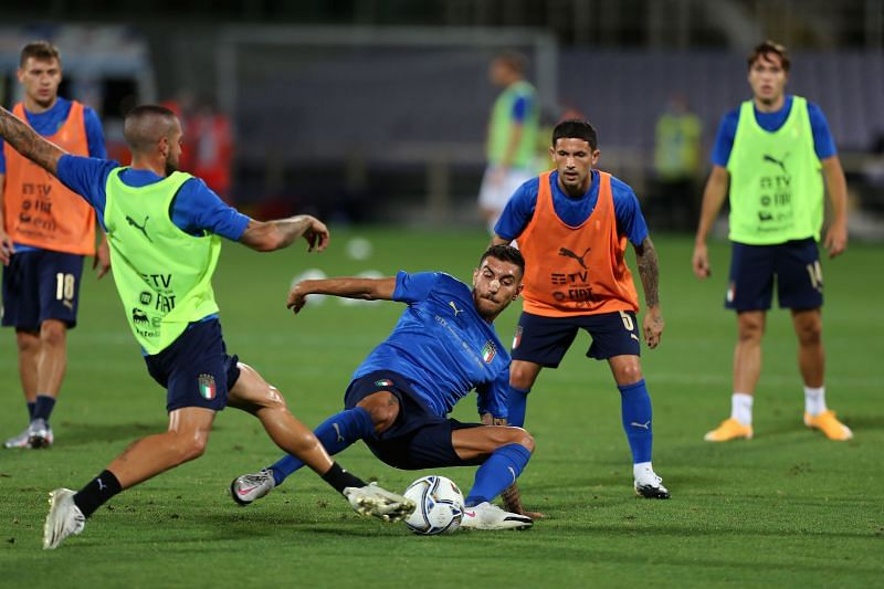Italy drew 1-1 with Bosnia-Herzegovina in their most recent UEFA Nations League match