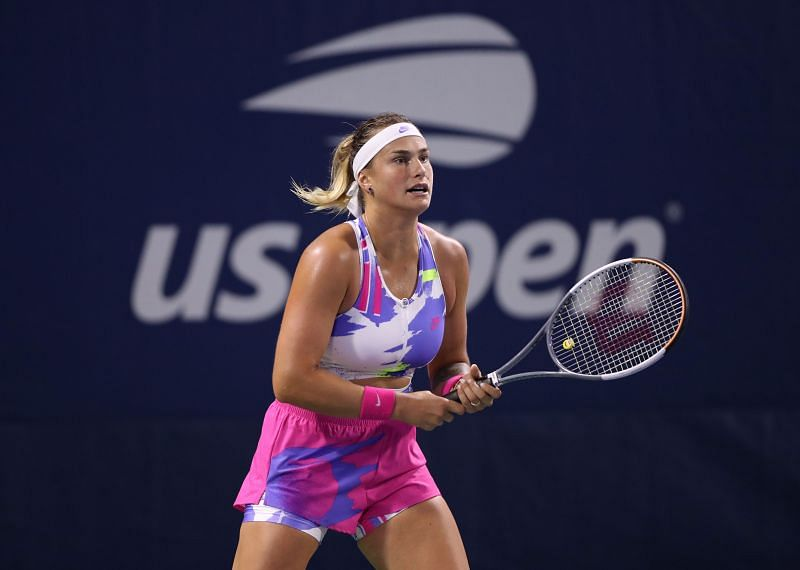 Aryna Sabalenka at the 2020 US Open