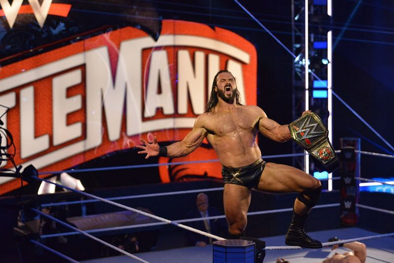 Drew McIntyre captured his first WWE Championship at WrestleMania 36