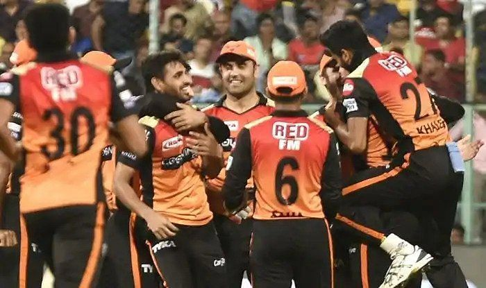 SRH bowlers pulled back things nicely and gave away just 73 runs off the last 10 overs