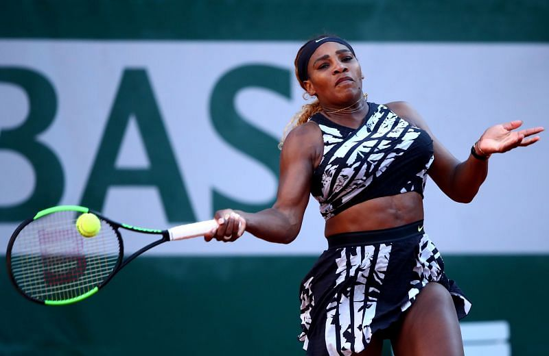 Serena Williams at the 2019 French Open