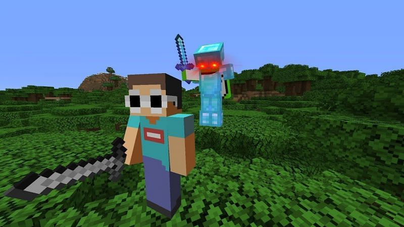 Minecraft Manhunt (Image credits: Dream, Youtube)