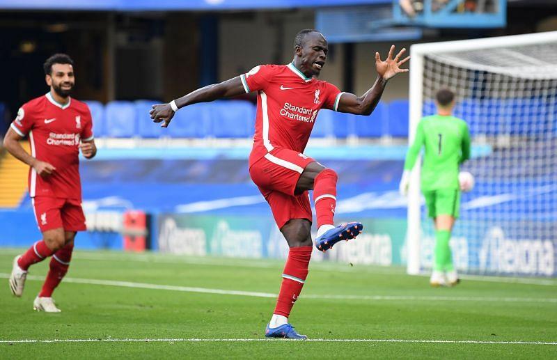 Sadio Mane is in excellent form