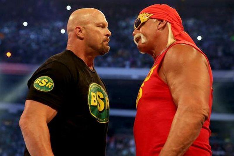 Stone Cold Steve Austin and Hulk Hogan