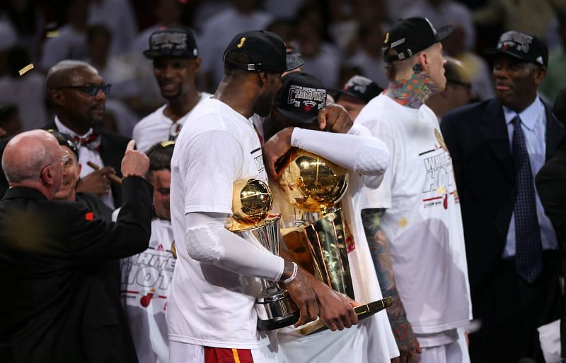 James won his 2nd NBA championship in 2013