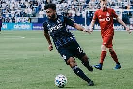 Danilo Acosta is currently injured. Image Source: LA Galaxy