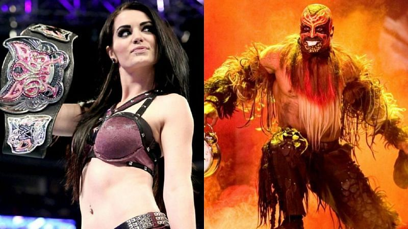 Paige (left); The Boogeyman (right)
