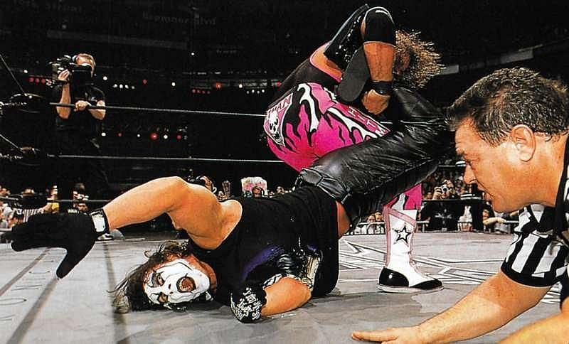 Bret Hart named the move himself (Pic Source: WWE)