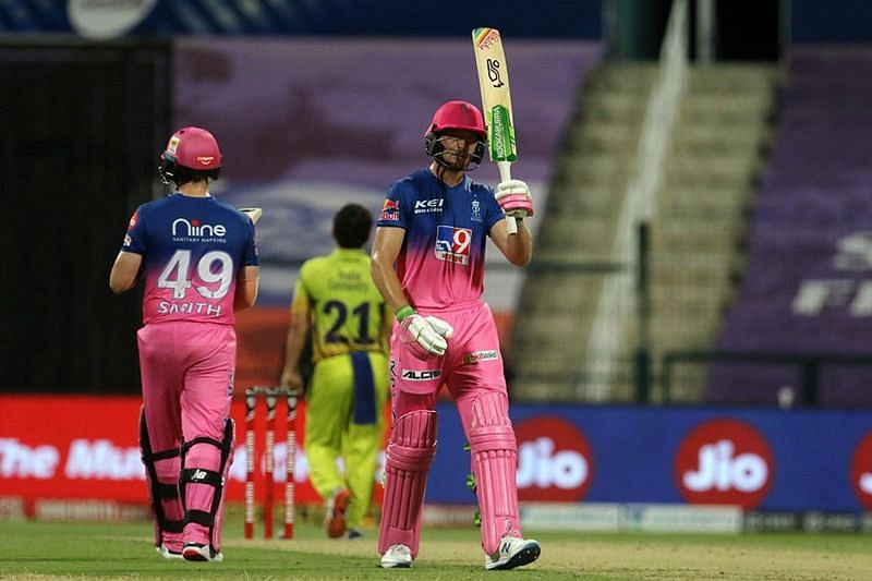 Jos Buttler starred with the bat as RR beat CSK by 7 wickets tonight (Credits: IPLT20.com)