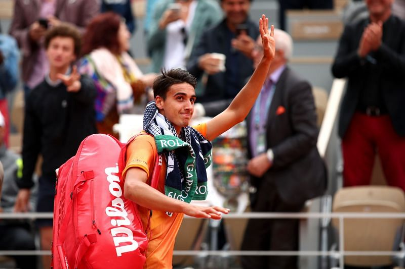 Lorenzo Sonego is d dangerous player on clay
