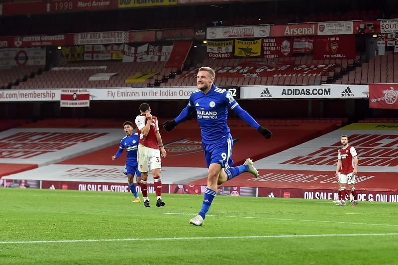 Arsenal fell to a 1-0 defeat to Leicester City
