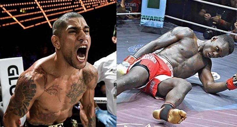 Alex Pereira knocked Israel Adesanya out cold in their rematch