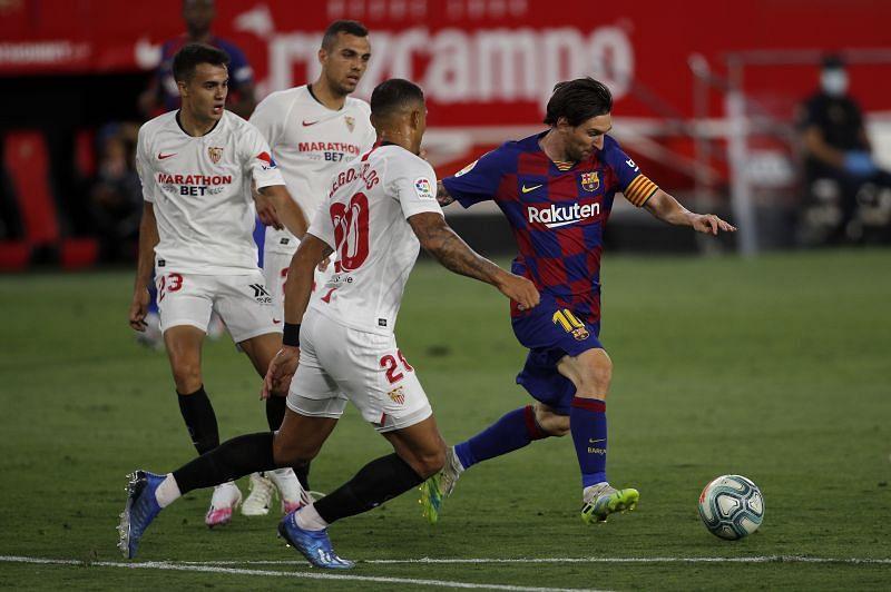 Full time: Barcelona 1-1 Sevilla