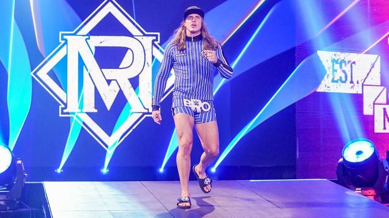 Matt Riddle moved to RAW in the 2020 WWE Draft