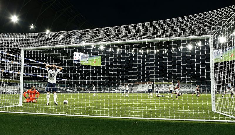 Clean sheets have become a rarity for Tottenham.
