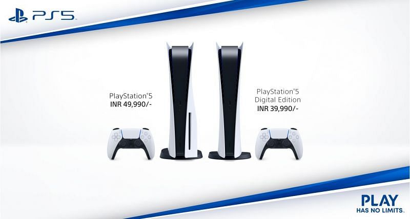 PlayStation 5 prices have been revealed for Indian gamers (Image credit: PlayStation)