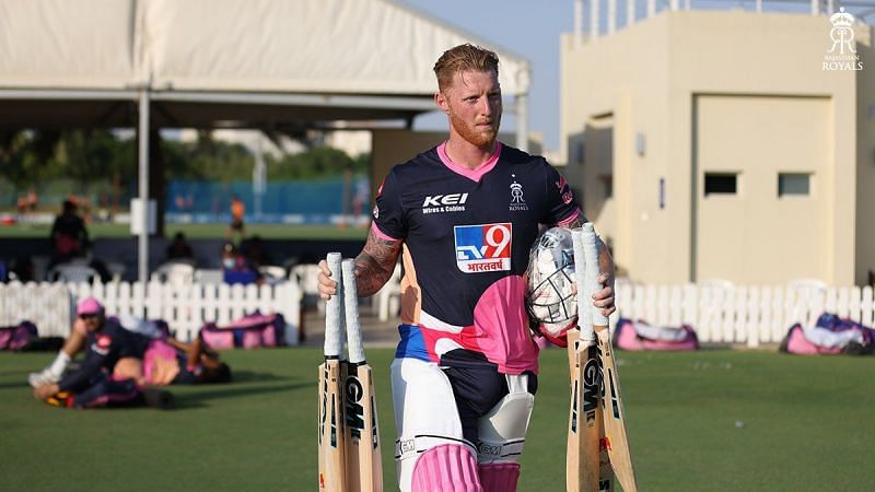 Ben Stokes might play his first IPL 2020 game against SRH today (Credits: Twitter)