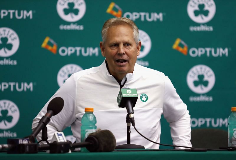 With the NBA draft quickly approaching, Ainge must decide what to do with his four draft selections.