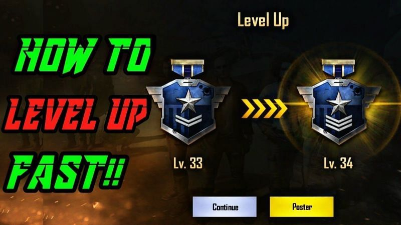 How to level up fast in Season 15 of PUBG Mobile